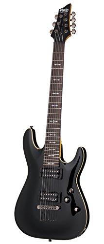 Schecter omen-7corde chitarra elettrica, nero OMEN-7 2012 BLK
