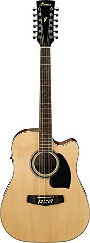 Ibanez PF1512-NT chitarra folk a 12 corde, naturale