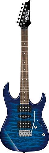 Chitarra elettrica Ibanez grx70qa-tbb Gio Full Transparent Blue Burst