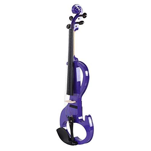 Labuduo Violino Elettrico, Strumento Musicale Durevole di Buon Timbro, per Regali per Studenti Principianti