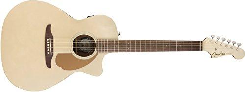 Fender Newporter Player - Chitarra acustica serie California, colore: Champagne
