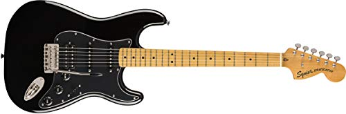 Squier by Fender Classic Vibe 70's Stratocaster chitarra elettrica HSS Full Nero