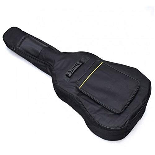 Sarahjers-Home Bag Holder 40 inch Spalle Oxford sulla Protezione delle acque Ispessimento Folk Linea Gialla Chitarra Acustica Borsa acustici ed elettrici Perfetto per Viaggiare