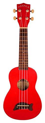 Kala Makala MK-S - Ukulele soprano, colore: Rosso mela