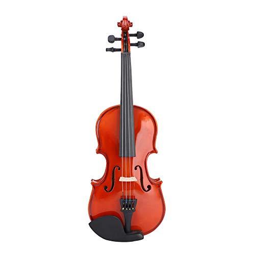 Taidda- Acero + Abete Rosso + Sequoia con Scatola con Corde di colofonia Violino 1/8, Kit Violino 1/8, Regalo Musicale per l'apprendimento dell'educazione Musicale esercitando Le Prestazioni