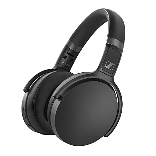 Sennheiser HD 450BT Cuffie Wireless/Bluetooth con Cancellazione Attiva del Rumore, Nero, Circumaurali