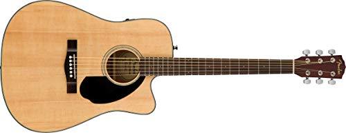 Fender CD-60SCE - Chitarra acustica Dreadnought, colore: naturale