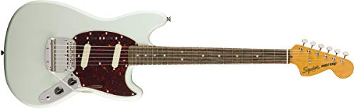 Squier by Fender Classic Vibe 60's - Chitarra elettrica Jazzmaster Sonic Blue. Full Mustang.