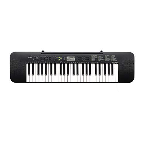 Casio CTK-240 - Tastiera Pianoforte Digitale a 49 Tasti, 100 Timbri, 100 ritmi e 50 Brani, Nero