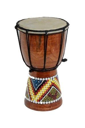 30cm 25cm 20cm 15cm 12cm Djembe Tamburo Bongo bambini bunt Bemalt + Istruzioni OneSize 20cm Djembe Trommel Bongo Bunt Bemalt