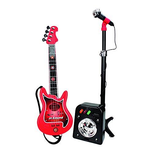 Reig 844 - Flash Chitarra e Microfono con Amplificatore, Modelli/Colori Assortiti, 1 Pezzo