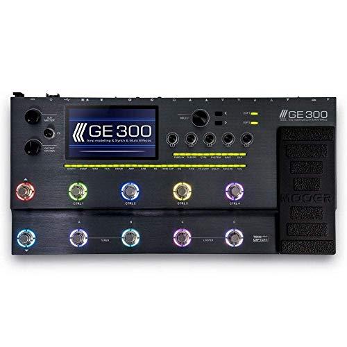 MOOER GE300 Amp Modeling & Multi-Effect Guitar Processor