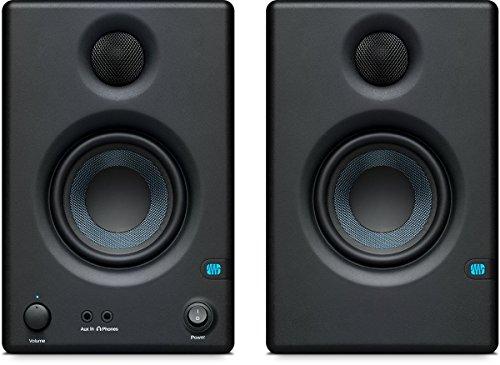 PreSonus ERISE3.5 Monitor di riferimento multimediale professionale con sintonizzazione acustica (coppia)