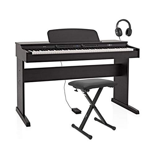 DP-6 Pianoforte Digitale di Gear4music + Pacchetto Accessori