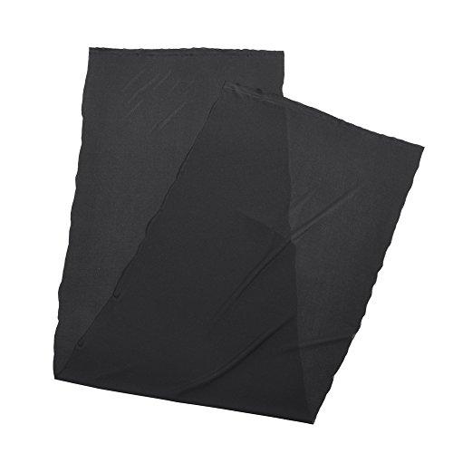 VBESTLIFE Copertura Protettiva Custodia per Altoparlanti 1.7mx0.5m Panno Diffusore Antipolvere in Tessuto Stereo con Rivestimento in Tessuto Gille(Black)