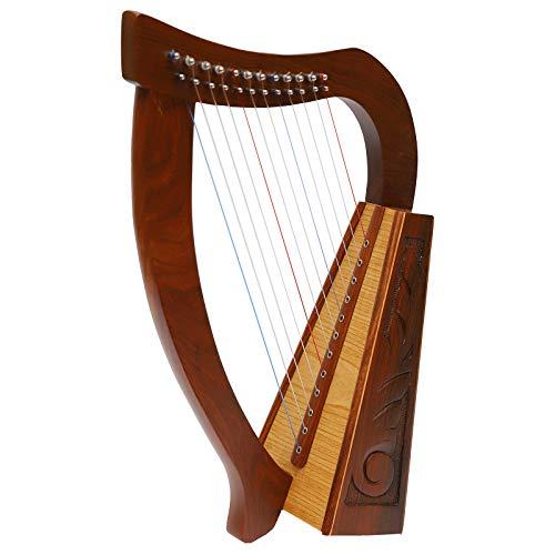 Muzikkkon, arpa celtica irlandese a 12corde O'Carolan