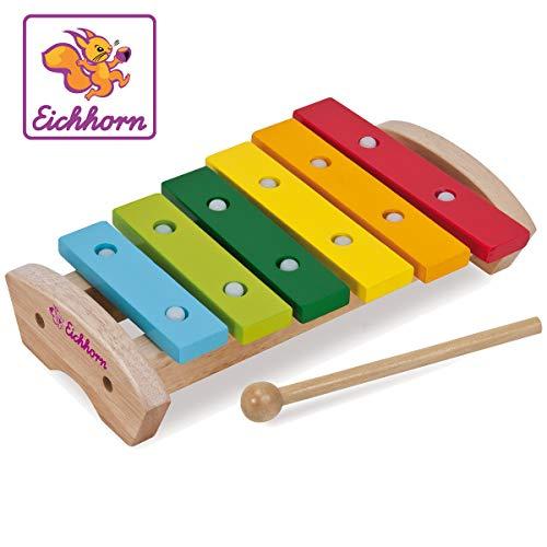 Eichhorn- Xilofono Colorato, Multicolore, 100005075