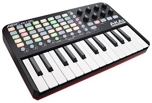 AKAI Professional APC Key 25 - Tastiera MIDI USB per Ableton Live con Griglia di Pad RGB per Clip e Tastiera + VIP 3 e Pacchetto di Software