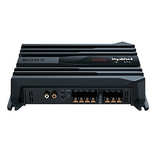 Sony XM-N502 - Amplificatore Stereo per Auto a 2 Canali, potenza in uscita 500 Watt