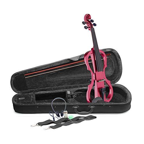 Stagg Evn x-4/4Mrd Full size violino elettrico–rosso