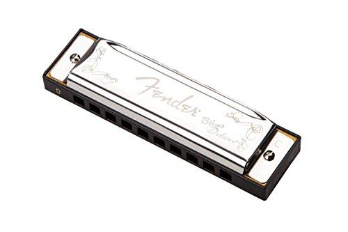 Fender Blues Deluxe Harmonica Key-C, Armonica a Bocca, Chiave di C