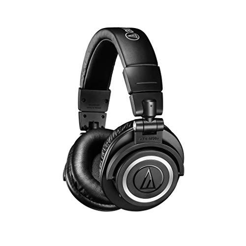Audio-Technica ATH-M50X BT–Cuffie wireless, Bluetooth 5.0, 3.5mm Audio, Nero