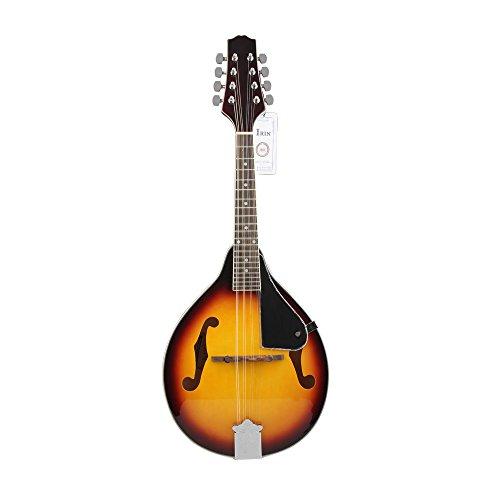 Andoer® Mandolino a 8 corde con ponte regolabile in palissandro