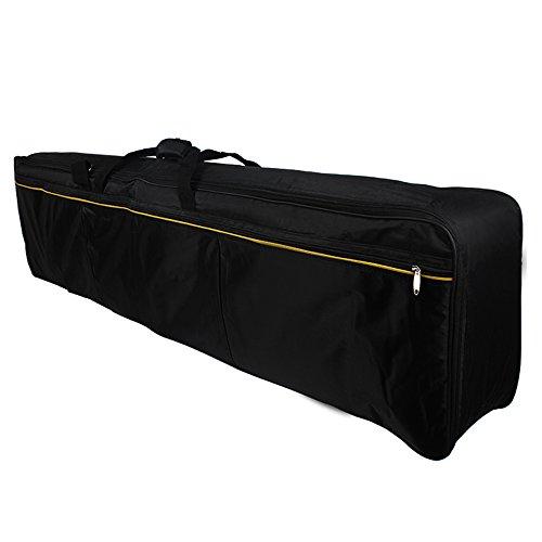 Andoer Tastiera Portatile 88-Key Electric Piano Caso Riempito Gig Bag in Tessuto Oxford