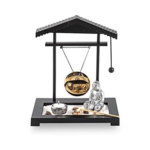 Pajoma 58287 Giardino Zen & Budda Figura, plastica, Altezza 30 cm