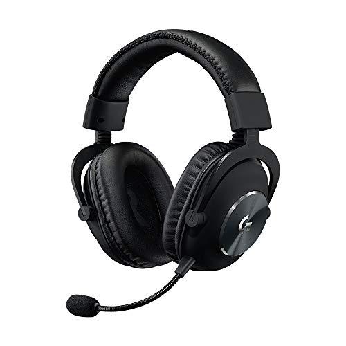 Logitech G PRO X Surround Sound Cuffia Gaming Cablata con Microfono di Seconda Generazione, con Blue Voice, DTS Headphone:X 7.1 e Driver PRO-G da 50 mm per PC, PS4, Switch, Xbox One, VR, Nero