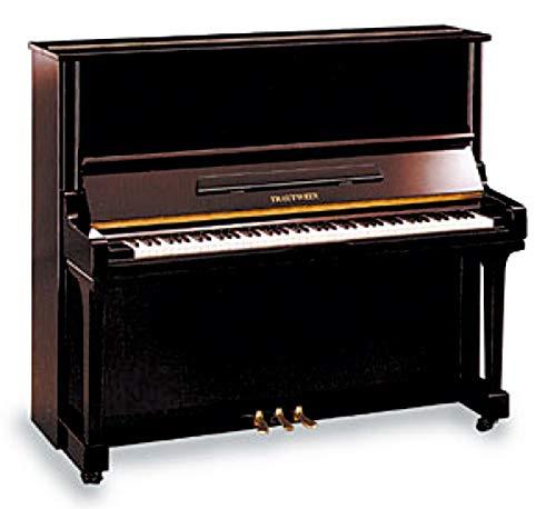 Klavier Marke Trautwein Modell KONZERT 130 BK - schwarz poliert