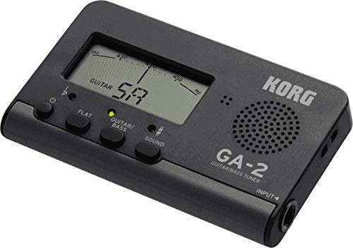 KORG GA-2 - Accordatore Digitale per Chitarra e Basso, Nero GA2