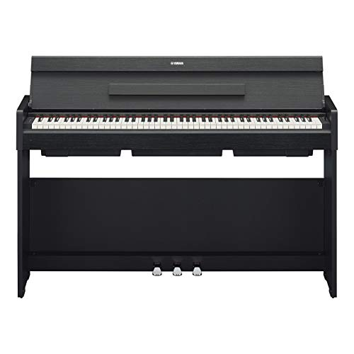 Yamaha Arius Digital Piano YDP-S34B, Pianoforte Digitale con Suono da Concerto, Connettore Host USB, Compatibile con l'Applicazione Smart Pianist, Nero