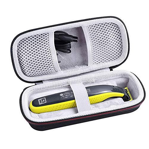 Steellwingsf Custodia per rasoio per Philips, trimmer rasoio custodia da viaggio organizzatore borsa da trasporto per Philips Norelco OneBlade