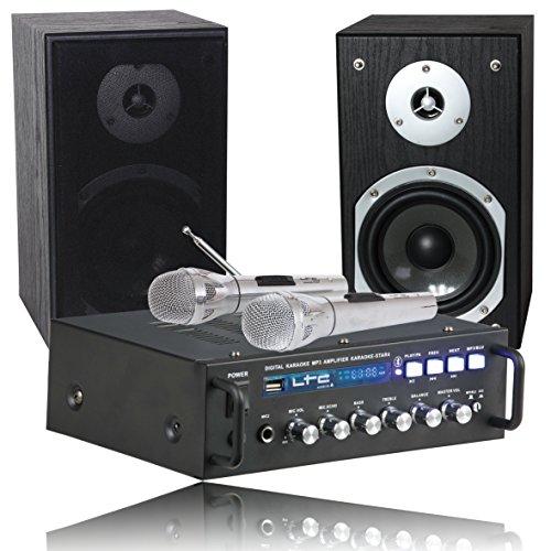 Ltc Ibiza Karaoke-Star4 Set Impianto Audio Completo Karaoke