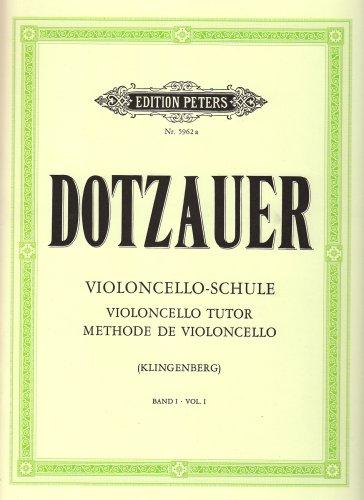 Violoncello-Schule - Band 1: Erste und halbe Lage [Lingua inglese]