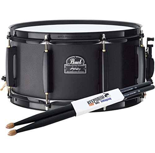 Pearl jj1365 N Joey jordison Snare Drum keepdrum Drum Sticks 5BB Black