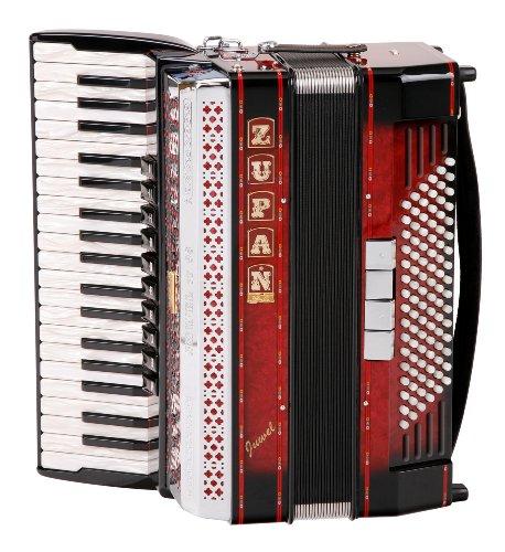 Zupan Juwel IV 96 MHR fisarmonica Shadow Red