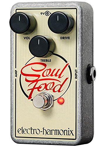 Electro Harmonix Soul Food Effetto a pedale per Chitarra Elettrica, Argento