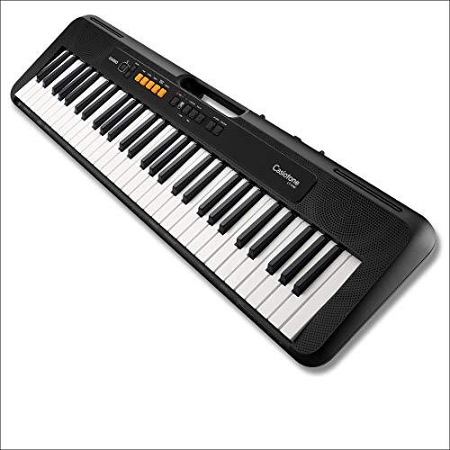 Casio - Musical Instruments Ct-S100C7 Tastiera di Pianoforte, Nero