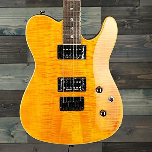 Fender Telecaster Custom Telecaster FMT Amber · Chitarra elettrica