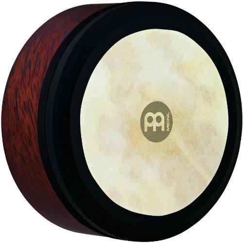 Meinl Percussion FD14IBO - Bodhran irlandese, tamburo a cornice con membrana in pelle di capra, diametro 35,56 cm (14'), colore: Marrone (Brown Burl)