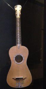 Chitarra a sei corde di Gian Battista Fabricatore del 1795