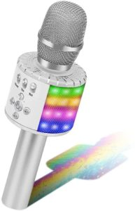 BONAOK Wireless Bluetooth Microfono Karaoke