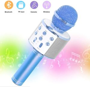 SaponinTree Microfono Karaoke Bluetooth