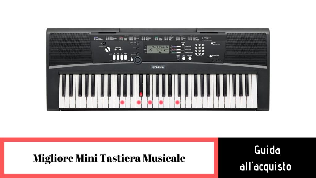 guida alla scelta della migliore mini tastiera musicale