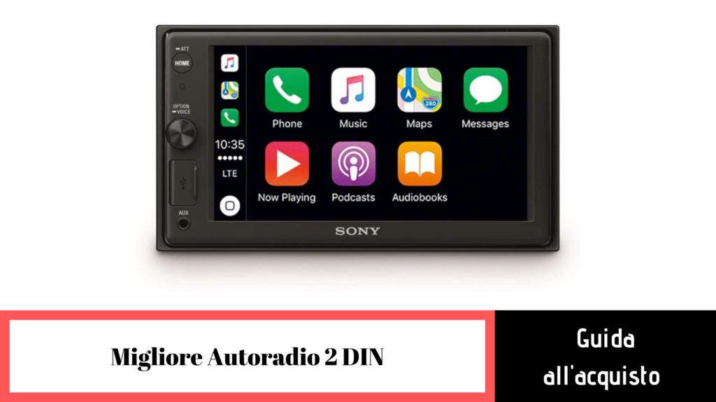 Migliori autoradio 2 DIN: guida all'acquisto