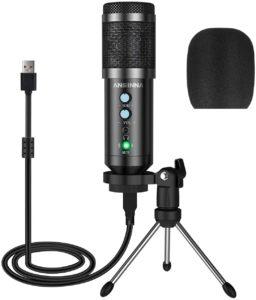 Ansinna microfono a condensatore USB cardiode