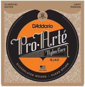 D'Addario EJ43 Set Corde Classica Pro Arte- corde chitarra classica D'Addario
