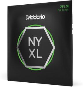 D'Addario NYXL0838- corde per chitarra elettrica morbide